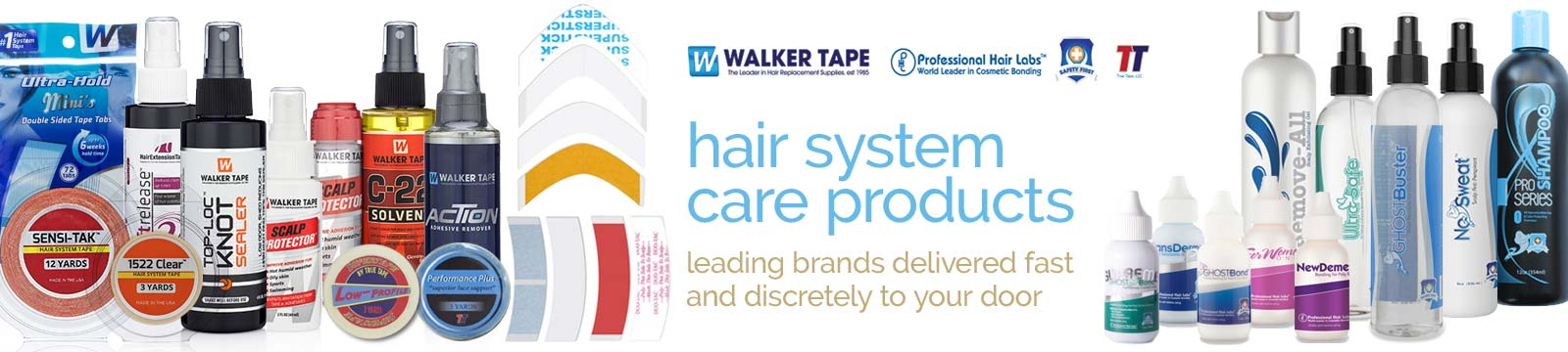 holistique - wig & hair system care products banner