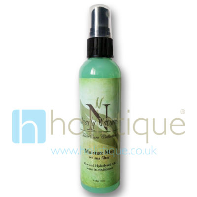 Image of Nearly Natural Moisture Mist Aloe and Hydrlyzed Silk leave-in Conditioner with Sun Filter