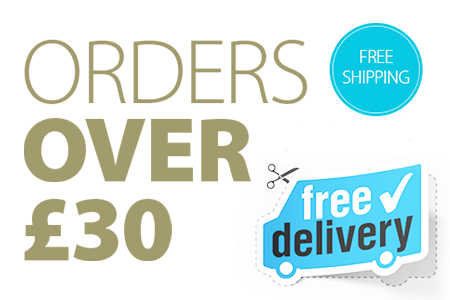 FREE UK Shipping when ordering over £30 of Hair System Products