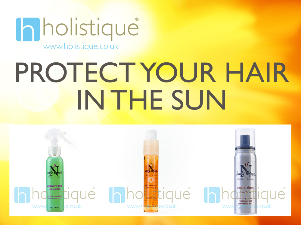 protect your hair in the sun