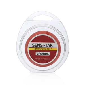 Walker Tape Sensi-Tak Red Wig Hair System Tape 3 Yards Roll image