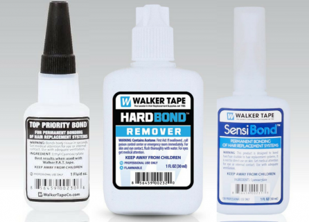 Walker Tape Hard Bond Adhesives for Wigs and Hair Systems how to guide