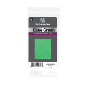 beautify easy green hair extension double sided tape image