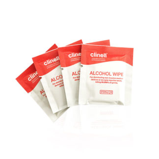 medical grade alcohol individual wipes sterile 70% Isopropyl