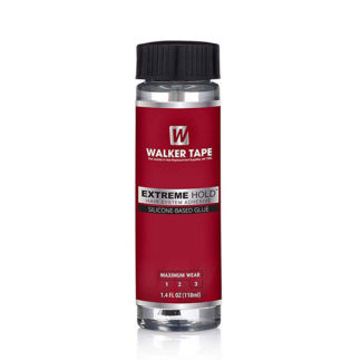 Walker adhesive bonding technology. Extreme Hold Silicone based glue for wigs and hair replacement systems 41ml size.