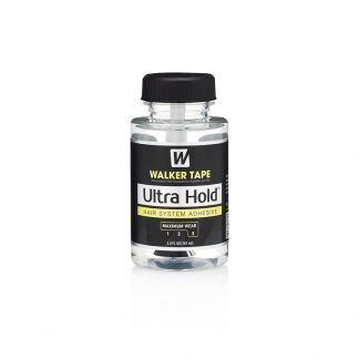 Image of Walker Tape Ultra Hold Hair Adhesive 3.4fl oz brush on maximum wear hold glue for Wigs and Hair Systems